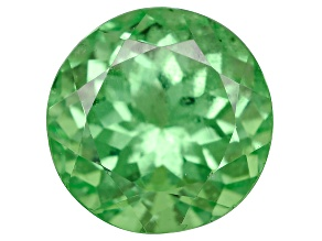 Green Garnet Tsavorite 6mm Round.70ct