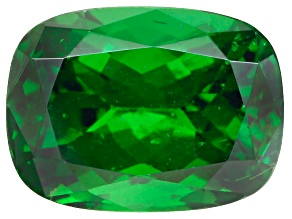Green Garnet Tsavorite 7.5x5.5mm Cushion 1.50ct