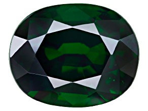 Green Garnet Tsavorite 7.38x5.86mm Cushion 1.58ct