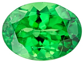 Tsavorite Garnet 7.5x5.5mm Oval 1.00ct