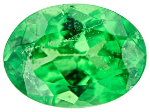 Tsavorite Garnet 7.5x5.5mm Oval 0.90ct