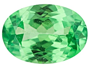 Tsavorite Garnet 6.5x4.5mm Oval 0.60ct