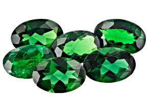 Tsavorite 6x4mm Ovals Set of 6 2.18ctw