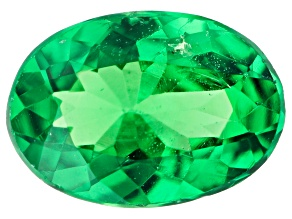 Tsavorite Garnet 6.5x4.5mm Oval 0.45ct