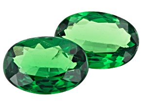 Tsavorite Matched Pair 6.5x4.5mm Oval 1.00ctw