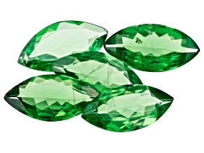 Tsavorite 8x4mm Marquise Set of 5 2.28ctw