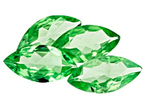 Tsavorite 8x4mm Marquise Set of 4 1.77ctw