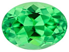 Tsavorite Garnet 7x5mm Oval 0.90ct