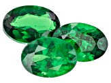 Tsavorite Garnet Oval Set of 3 2.31ctw