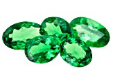 Tsavorite Garnet Set of 5 1.59ctw