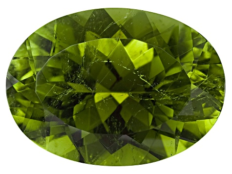 Green Tourmaline Untreated 14x10mm Oval 6.30ct