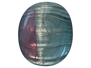 Brazilian Untreated Bi-Color Cats-Eye Tourmaline Minimum 7.00ct mm Varies Mixed Shape Cabochon