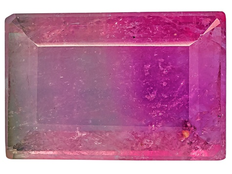Bi-Color Tourmaline Rectangle 2.00ct