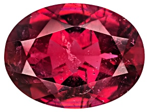 Rubellite Tourmaline 8x6mm Oval 1.00ct