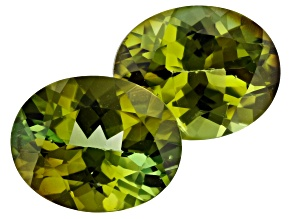 5.07ct Tourmaline 10x8mm Matched Pair Oval