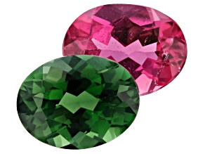 2.99ct Tourmaline Varies mm Color Set Of 2 Oval