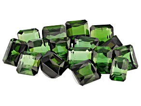 47.85ct Tourmaline Varies mm Parcel Of 16 Varies Shape