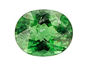 Green Tourmaline 12.8x10.4mm Oval 6.27ct