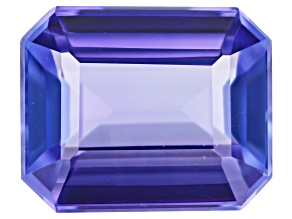 Tanzanite 10x8mm Emerald Cut 2.93ct