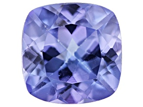 Tanzanite 6mm Square Cushion 0.90ct