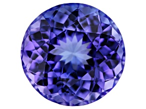 Tanzanite 8mm Round 1.90ct