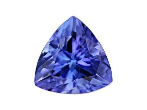 Tanzanite 6mm Trillion 0.65ct