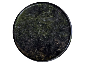 Obsidian 20mm Round Cabochon 15.50ct
