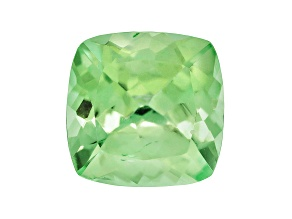 Garnet Mint Tsavorite Fluorescent 8mm Square Cushion 2.20ct
