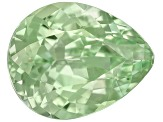 Mint Grossular Garnet Fluorescent 7.5x6mm Pear Shape .95ct