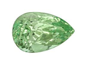 Garnet Mint Tsavorite Fluorescent 8.5x5.5mm Pear Shape 1.57ct