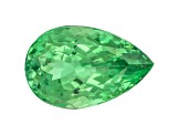 Garnet Mint Tsavorite Fluorescent 12.5x8mm Pear Shape 4.51ct