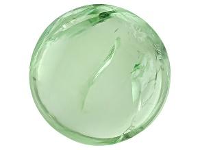 Garnet Mint Tsavorite Fluorescent 6mm Round Cabochon 1.25ct