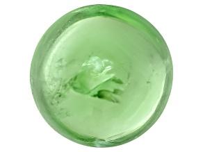 Garnet Mint Tsavorite Fluorescent 6mm Round Cabochon 1.50ct