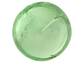 Garnet Mint Tsavorite Fluorescent 7mm Round Cabochon 1.75ct