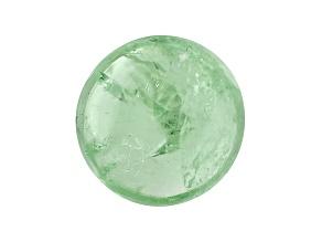 Garnet Mint Tsavorite Fluorescent 7mm Round Cabochon 2.00ct