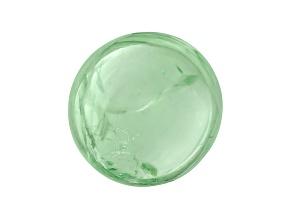 Garnet Mint Tsavorite Fluorescent 7mm Round Cabochon 2.25ct