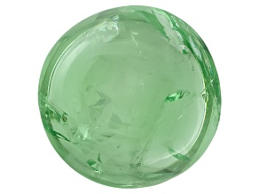 Garnet Mint Tsavorite Fluorescent 9mm Round Cabochon 4.00ct