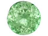 Garnet Mint Tsavorite Fluorescent 6.5mm Round 1.00ct