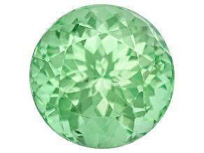 Garnet Mint Tsavorite Fluorescent 6.5mm Oval 1.68ct