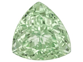Garnet Mint Tsavorite Fluorescent 7mm Trillion 1.45ct