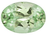 Garnet Mint Tsavorite Fluorescent 7x5mm Oval .75ct