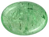 Garnet Mint Tsavorite Fluorescent 14x10mm Oval Cabochon 10.50ct