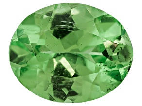 Mint Tsavorite Garnet Fluorescent 5x4mm Oval .30ct