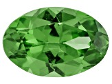 Garnet Mint Tsavorite Fluorescent 6x4mm Oval .40ct