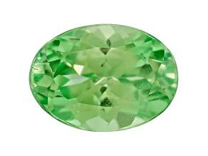 Grossular Garnet Fluorescent 7x5mm Oval 1.00ct