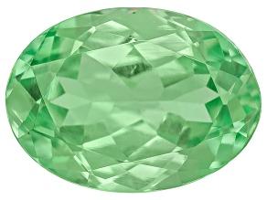 Garnet Mint Tsavorite Fluorescent 7x5mm Oval .75ct