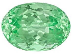 Garnet Mint Tsavorite Fluorescent 7x5mm Oval 1.00ct