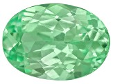 Garnet Mint Tsavorite Fluorescent 7x5mm Oval .80ct