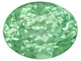 Garnet Mint Tsavorite Fluorescent 9x7mm Oval 2.22ct