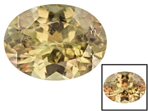 Diaspore Color Change 19.5x14.49mm Oval 17.12ct